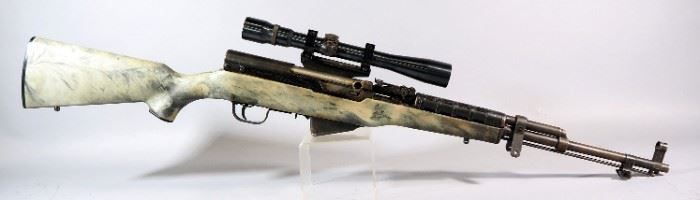 Chinese Sporter 7.62x39mm Rifle SN# 02122, With Weaver Scope And KLoc Mount