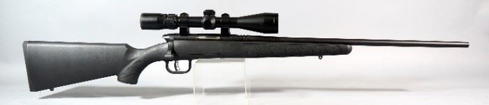 Savage Model B-Mag .17 WIN Super Mag Bolt Action Rifle SN# J424416, With Nikon SA 3-9x40 Scope