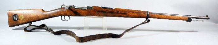 Swedish Carl Gustafs Stads Gevarsfaktori Mauser 1919 6.5x55mm Bolt Action Rifle SN# 462538, With Leather Strap