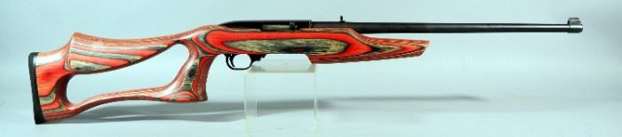 Ruger Model 10/22 Carbine .22 LR Rifle SN# 127-73917, Scratch On Top Of Receiver, SS Evolution Stock
