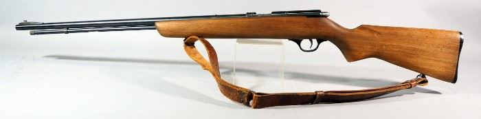 Marlin Model 81 .22 SLLR Bolt Action Rifle SN# Not Found, With Leather Sling, Includes Separate All-Pro 4x15 Scope
