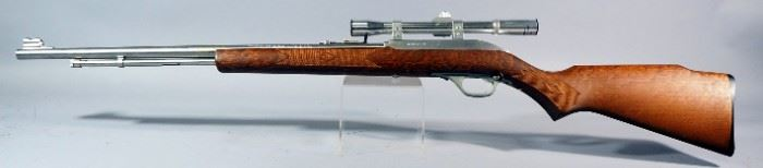 Marlin Model 60SB .22 LR Rifle SN# 01107560, With Tasco 4x20 Scope, In Original Box