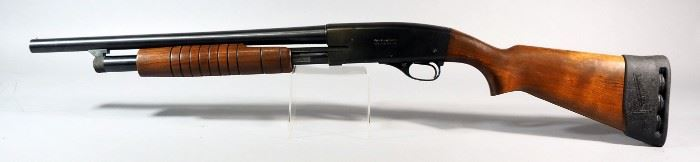 Western Field Model XNH-560-8A 12 ga Pump Action Shotgun SN# Not Found, With Rubber Sleeve Butt Plate