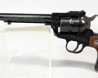 Ruger New Model Single-Six .22 Cal 6-Shot Revolver SN# 260-91345, With Additional .22 Win Mag Cylinder, In Soft Case