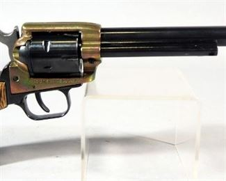Heritage Manufacturing Rough Rider .22 Cal 6-Shot Revolver SN# Y93144, With Paperwork, In Original Box
