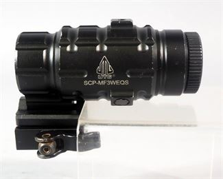UTG 3X Magnifier with Flip-To-Side QD Mount Model SCP-MF3WEQS
