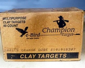 Champion Multipurpose Clay Targets, Approx 90