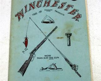Winchester Book Collection, Includes Catalogs, Winchester Shotguns, Lever Action Repeaters 3-Vols, Winchester In The Service And More, Total Qty 12