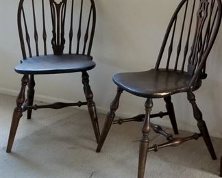 Sturdy - Windsor antique chairs
