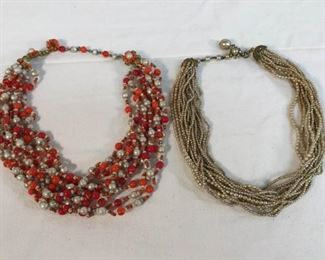 Miriam Haskell Vintage Necklaces 2 PC https://ctbids.com/#!/description/share/328613