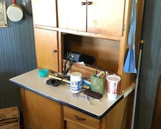 Hoosier look cabinet priced to sale !