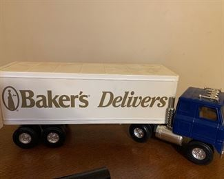 Baker's Delivers truck