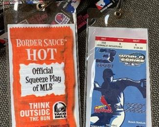 World series advertising tickets