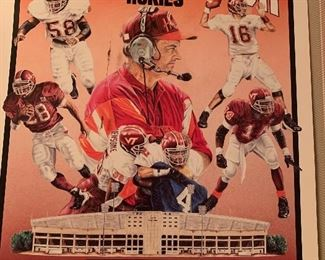 Virginia Tech Hokies poster