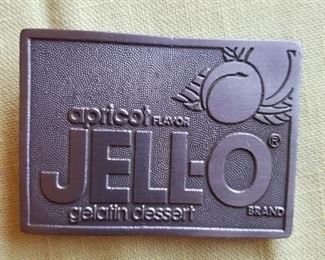 Jello-o belt buckle