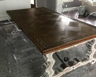 Jean-Marc Fray Antique Circa 1900's Dining Table