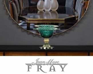 Jean-Marc Fray 1900's Antique Dining Table shown in next picture