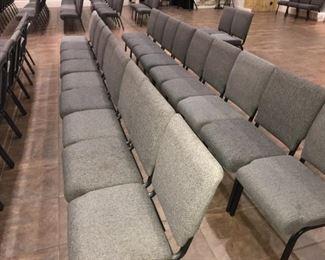 100 Interlocking Chairs