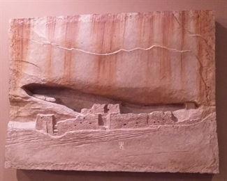 Carl Bandy Artist-White House Ruins de Chelly Canyon