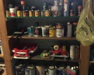 Paints, stains, miscellaneous