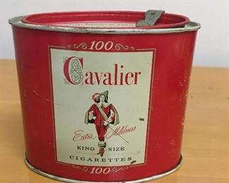 Vintage Cavalier tin