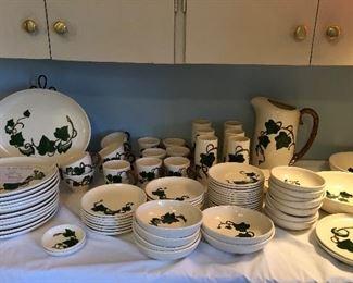 Metlox Ivy vintage dishes