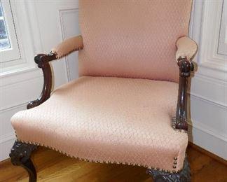 Fine Carved Armchair