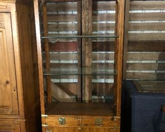Davis Company display cabinet