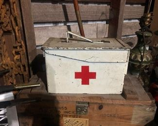 Authentic military med box