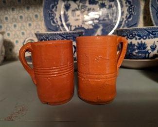 North Carolina Pottery Mugs
