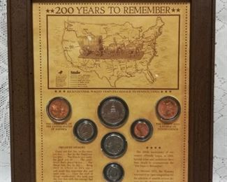 200 year coin history