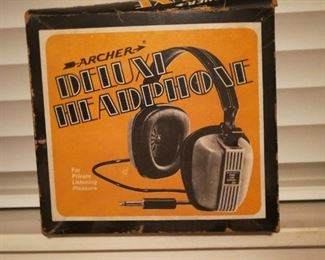 Archer Deluxe headphones