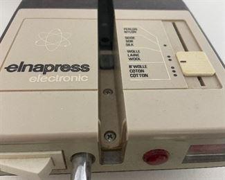 elnapress 2000 Swiss made press board, machine quilting