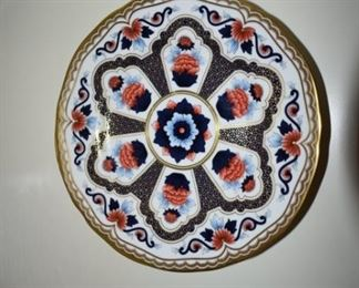 Set of 5 Imari Star by Royal Worchester. Excellent condition, no cracks or crazing. Retired pattern.
