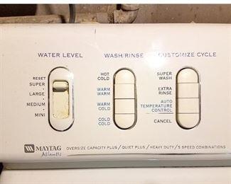 Maytag Atlantis washing machine...