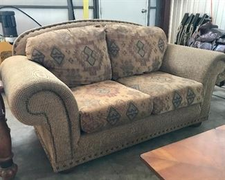 South Western Pattern Sofa