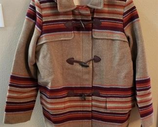 Ladies XL Pendleton Jacket with hood. New with tags .