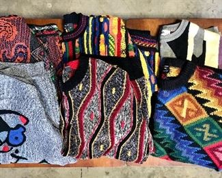 Men's artisan sweaters