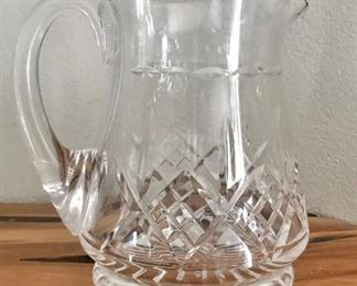 Stuart Crystal Pitcher