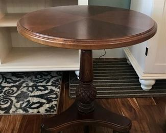 """""""Hammary"""" Furniture of NC, Round Side Table"""