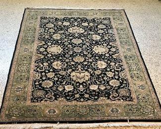 6' x 9' Wool area rug