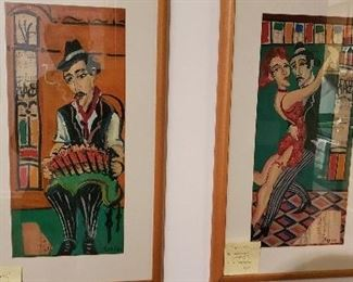 Art from argentina. Negotiable