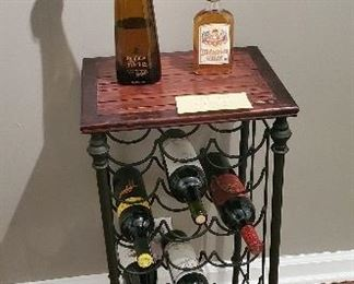 Wine rack from Pier one: $25