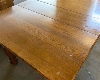 Additional photo of Oak table top