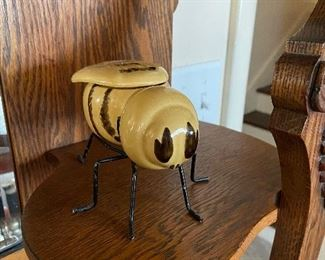 Bee honey pot 1950's  by Mellona, of Holland - $10