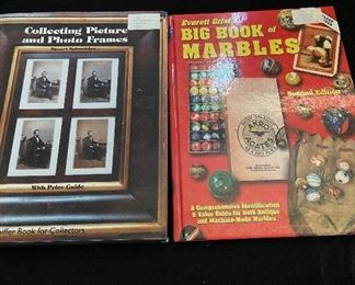 Collector's guide value books - $4 each - Big Book of Marbles (Sold)