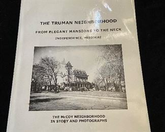 """The Truman Neighborhood"" by Bill Curtis. The McCoy neighborhood in story and photographs. - $5"