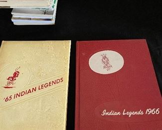 "Fort Osage HS  ""1960's"" year books - $4 each"
