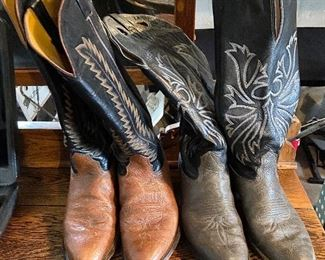 """Nocona"" Texas men's cowboy boots. Size 10 Made in the USA. - $90 each"