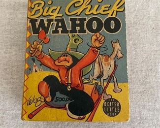 "Little Big Book, ""Big Chief Wahoo"" in very good condition - $8"